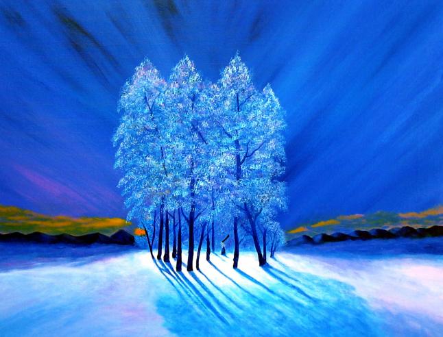 blue christmas #1