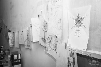 A night of 1000 drawings 2015_Alla Ponomareva