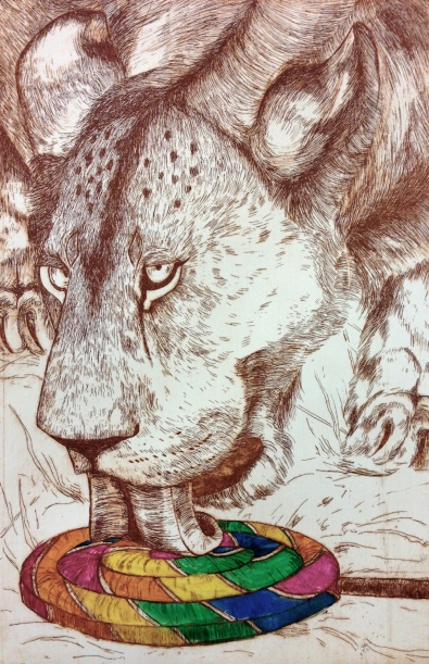 Lionness' Find, Monotype