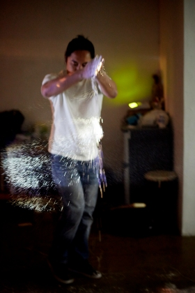 Paying tribute to Hangang River with Bengawan Solo Performance (Golmok Gallery Seoul) 2013