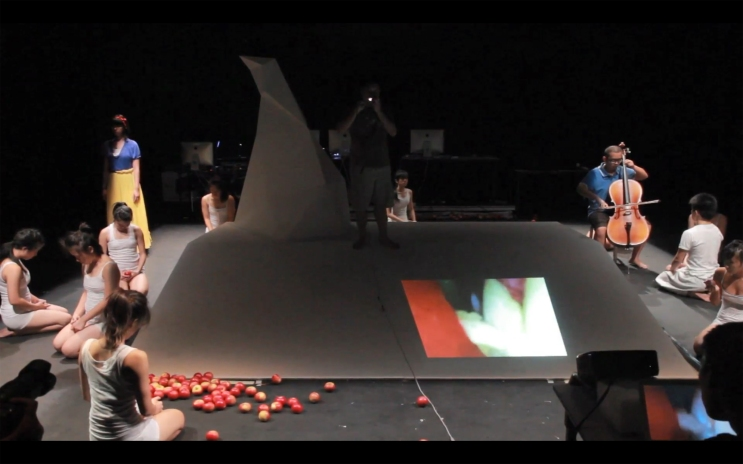 Epitaph of Alan Turing Theater performance (44mins) 2012