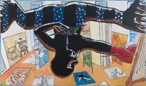 JUMP'IN BLACK FLASH 231 x 142