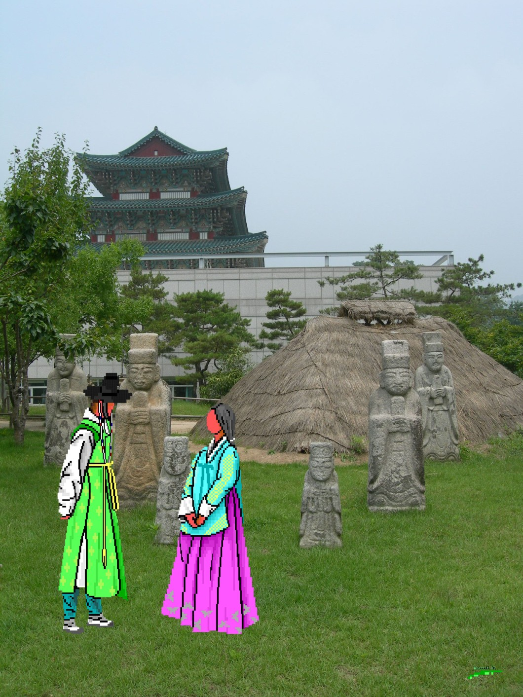 WZ - South Korea, Yakcheonsa Temple, Jeju Island (1)
